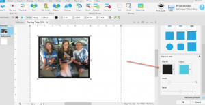 How to Easily Add Photo Mats to Your Page